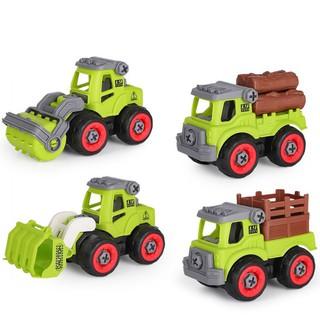 Xe đồ chơi mô hình ô tô tháo lắp dễ dàng hiệu Híp s Toys MODEL 996E bằng nhựa 1