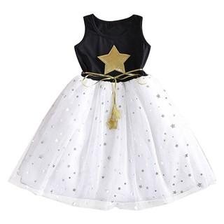 Đầm xòe công chúa trang nhã cho bé gái