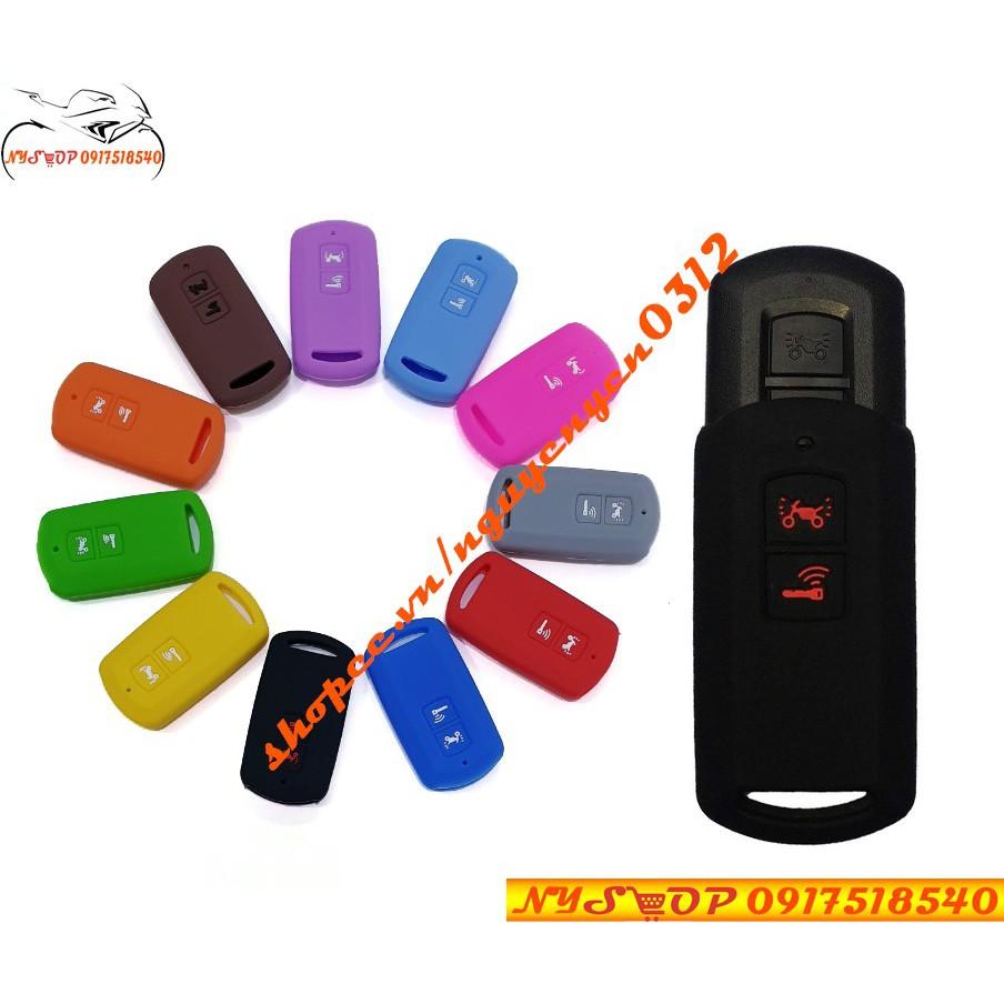 Bọc chìa khóa xe Smartkey Lead, Air Blade,VISION,VARIO 2018 Silicon bảo vệ cho Remote