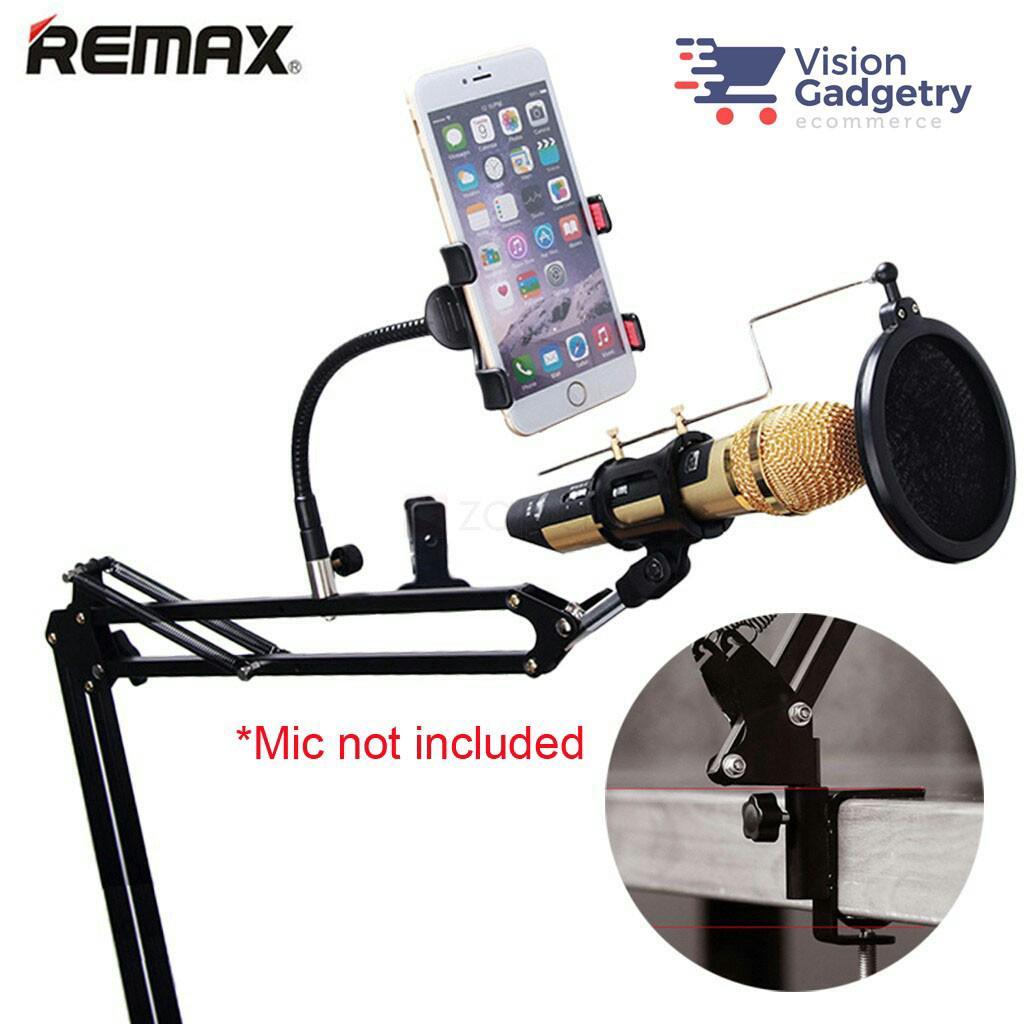 Micro REMAX chuyên nghiệp có giá đỡ