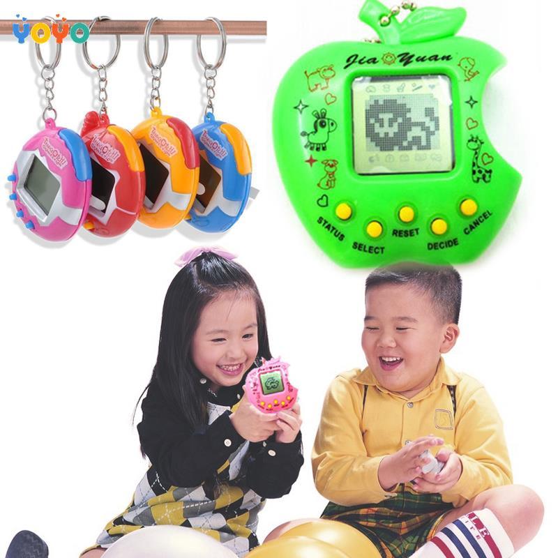 COD! Tamagochi Pet Amusing Childhood Game Machine Button Electronic Pets Toy Nostalgic