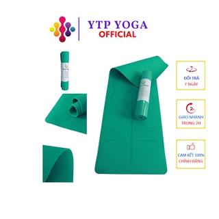 Thảm Tập Yoga ECODINHT06 Thảm Yoga Eco Định Tuyến Cao Cấp Chất Liệu TPE 6mm 1 Lớp [KÈM TÚI CAO CẤP]