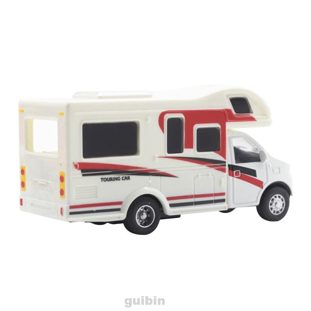 1:24 Recreational Mini Fashion Alloy Simulation Kid Toy Luxury Motorhome Beginners Car Model