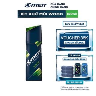 Xịt khử mùi X-men Wood 150ml