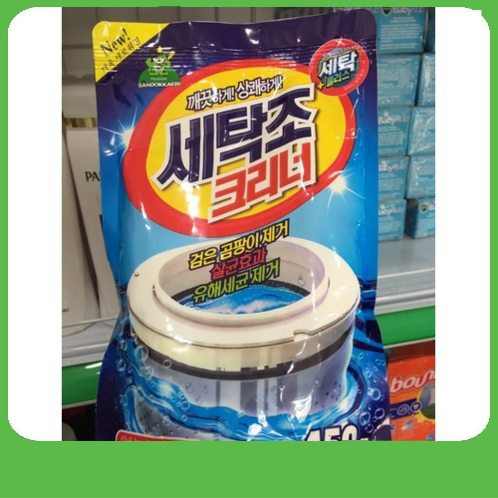 [QUÁ HOT] Bột tẩy vệ sinh lồng máy giặt Hàn quốc sandokkaebi [Sale] - 14303858 , 2145780690 , 322_2145780690 , 31050 , QUA-HOT-Bot-tay-ve-sinh-long-may-giat-Han-quoc-sandokkaebi-Sale-322_2145780690 , shopee.vn , [QUÁ HOT] Bột tẩy vệ sinh lồng máy giặt Hàn quốc sandokkaebi [Sale]