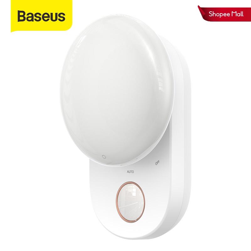 Đèn Ngủ LED Baseus Từ Tính Cảm Ứng Có Thể Tháo Rời Cho Tủ Quần Áo/ Phòng Ngủ
