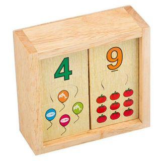 Bộ học số cho bé Winwintoys – Đồ chơi gỗ