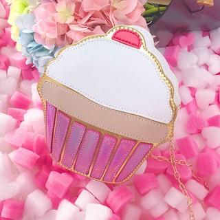 Túi đeo vai hình cây kem/bánh kem