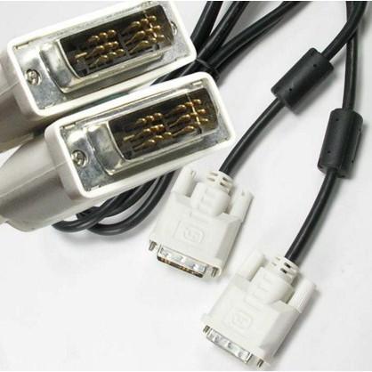 Dây Cáp tín hiệu DVI nối Card VGa và màn hình_Cáp DVI dài 1.5m hàng bóc máy xịn