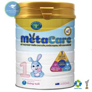 Sữa bột Nutricare Metacare 1 Mới - phát triển toàn diện cho trẻ 0-6 tháng tuổi (900g)