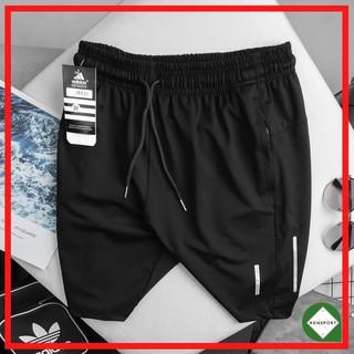 Quần short thun thể thao nam, quần đùi nam thun lạnh das phối sườn – QS40