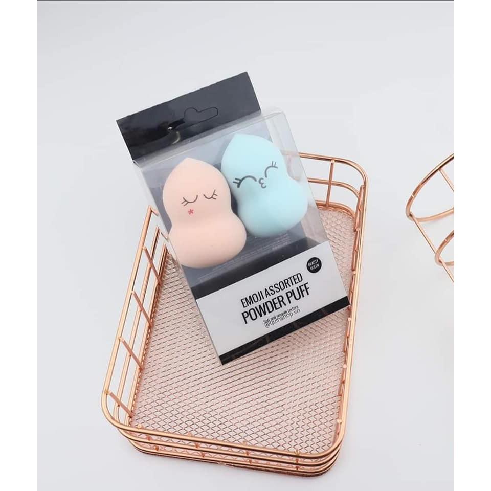 Mút Tán Kem Nền Miniso Emoji Assorted Powder Puff | Shopee Việt Nam