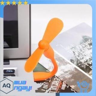 Quạt USB 2 Cánh Rời Cắm Máy Tính, Sạc Dự Phòng, Củ Sạc Điện Thoại, Siêu Mát – Siêu Tiện Dụng