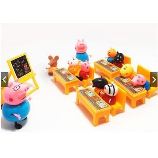 Bộ Lợn Lớp Học Pepa Pig 13 Nhân Vật