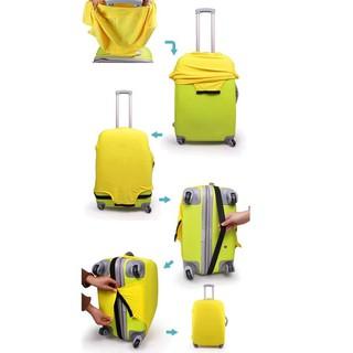 Vali du lịch tiện dụng chất lượng cao Vỏ bọc vali du lịch chống bụi đàn hồi tốt thumbnail