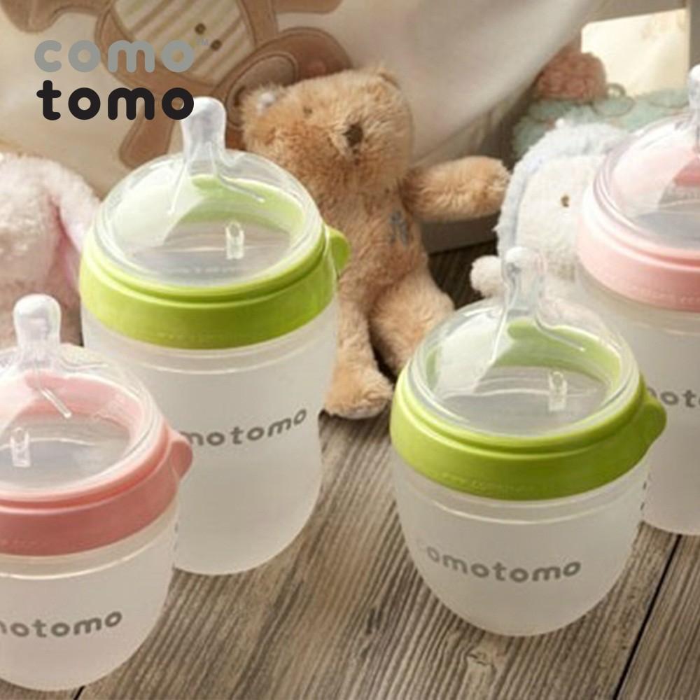 Bình sữa silicone Comotomo - Hàng Ánh Dương phân phối