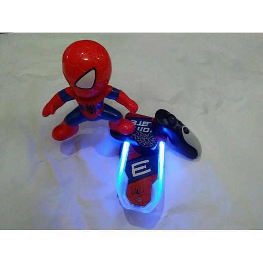 Người nhện điều khiển phát đèn