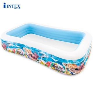 Bể bơi phao đại dương 305x183x56 cm INTEX 58485