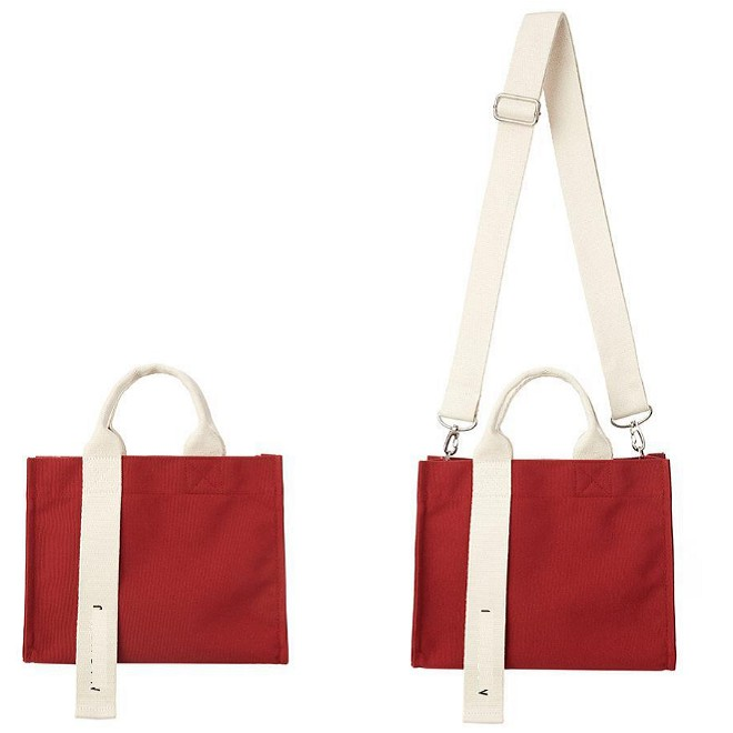 Túi vải CanVas Nhập Khẩu Phong Cách Hàn Quốc Size Trung (Hàng Dày Đẹp)