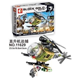 Lego trực thăng quân sự