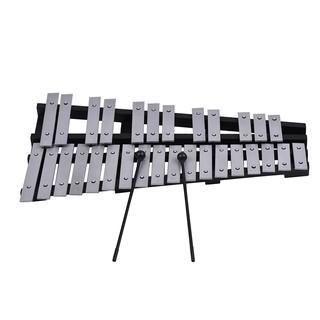 Có thể gập lại 30 Lưu Ý Glockenspiel Xylophone Khung Gỗ Thanh Nhôm Giáo Dục Bộ Gõ Nhạc Cụ Quà Tặng với Thực Bag