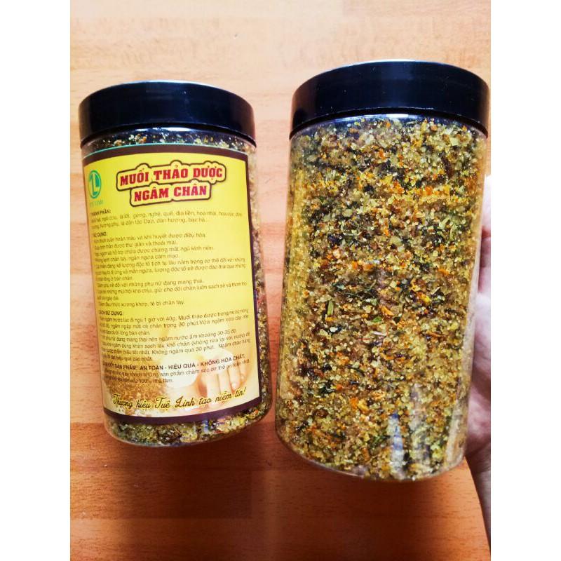 1kg muối thảo dược ngâm chân