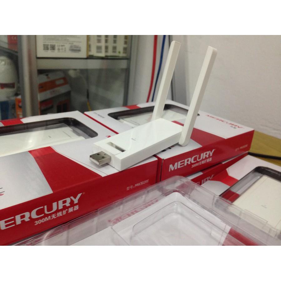 Kích Sóng Wifi Mercury 2 Râu Mw302Re Giá chỉ 120.000₫