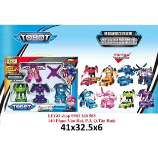 Đồ chơi mô hình lắp ráp Tobot nhiều con
