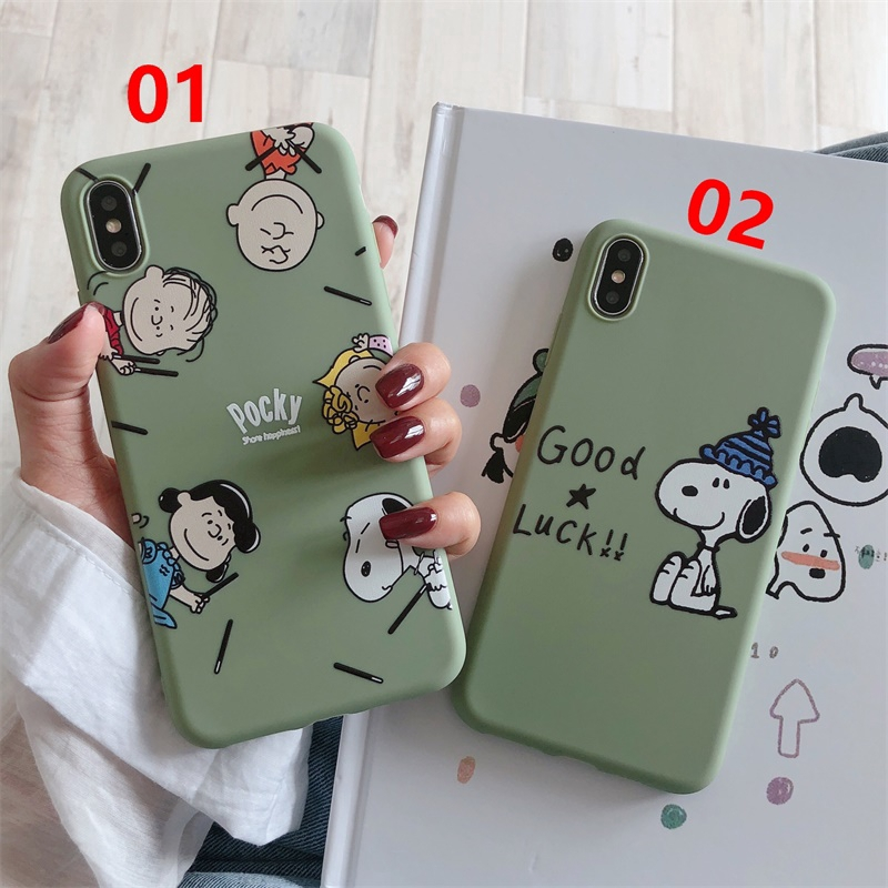 Mobile Phone Case VIVO Y67/Y71/Y75/Y79/Y83/Y85/Y93/Y97/S1/V11i(Z3i)-Snoopy Family& Blue Hat