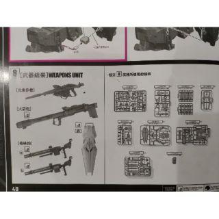 Set vũ khí của PG Unicorn MMK – Hàng Hiếm – Chưa Cắt – Chưa Ráp – Mới 100%
