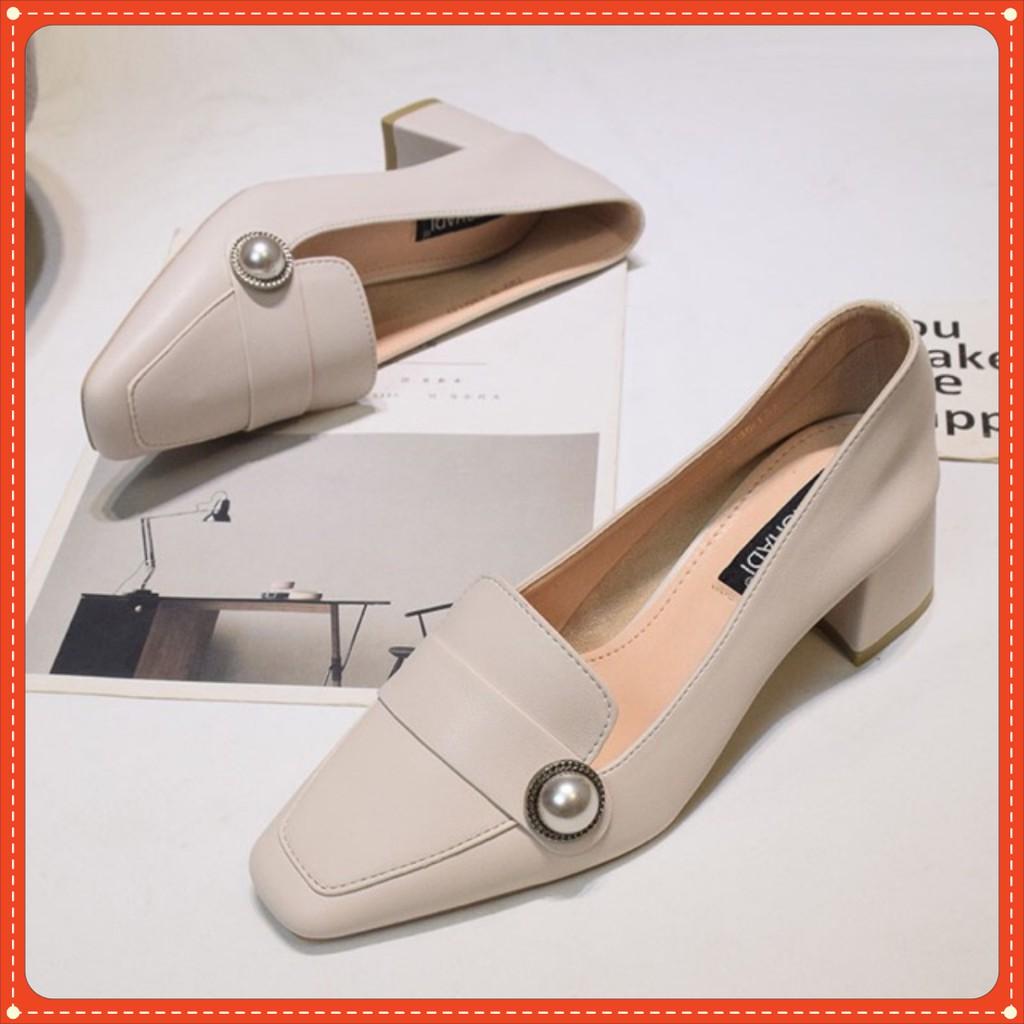 Giày Kiểu Thời trang đính ngọc siêu sang mã H_GC17