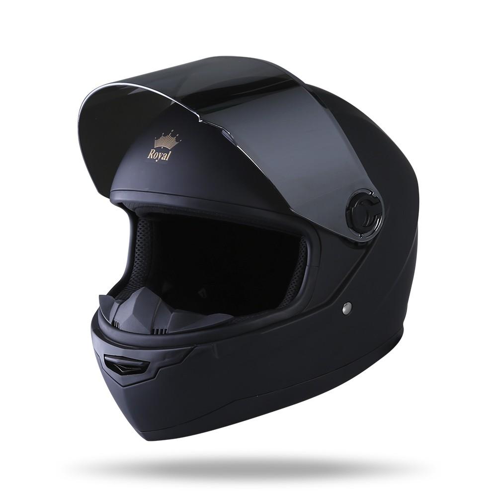 [Mã SKAMSALE10 giảm 10% đơn 200K] Mũ Bảo Hiểm Fullface Royal M136 - Bảo Hành Chính Hãng 12 Tháng