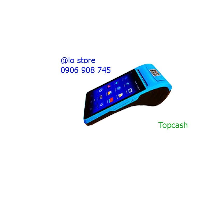 Máy tính tiền cảm ứng cầm tay Topcash POS QT-H10 Giá chỉ 6.400.000₫