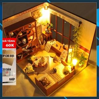Mô hình nhà búp bê gỗ DIY Nhà búp bê lắp ghép Calligrahy House TW28 Toy World thumbnail