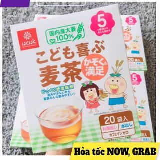 Trà lúa mạch Hakubaku túi lọc cho bé từ 5 tháng tuổi Nhật Bản