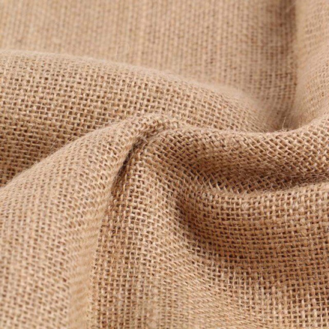 Vải bố đay 1m (khổ 1m2 và 1m7) loại dày decor chụp hình - trang trí - hanmade