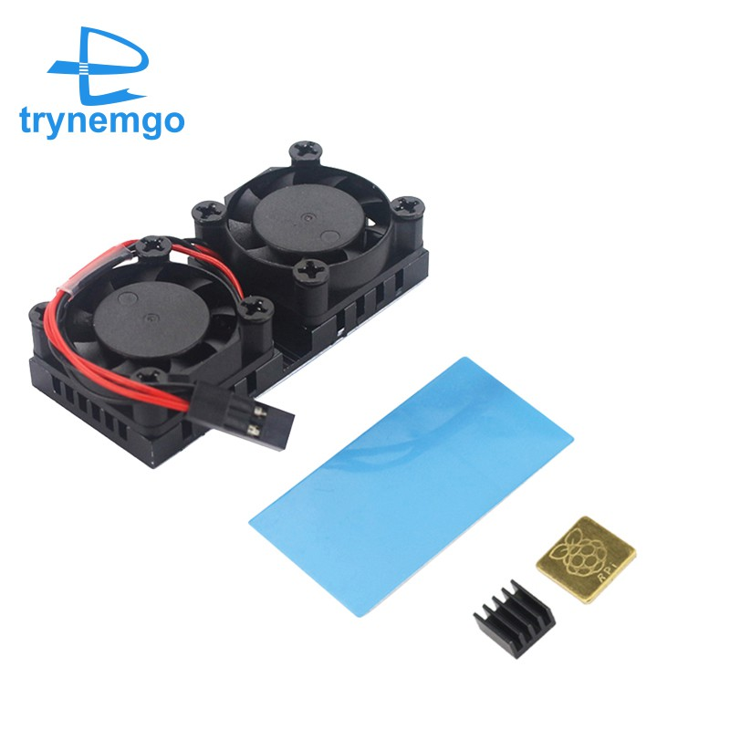Quạt Tản Nhiệt Cho Raspberry Pi 3 Model B+Plus Hoặc 3b Trynnemgo