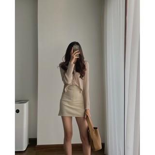 Yêu Thích[ảnh thật] chân váy mini S M L 7621