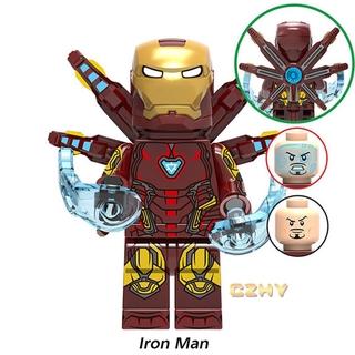 Mô Hình Lắp Ráp Lego Nhân Vật Iron Man Avengers 4 Mk85 Chất Lượng Cao thumbnail