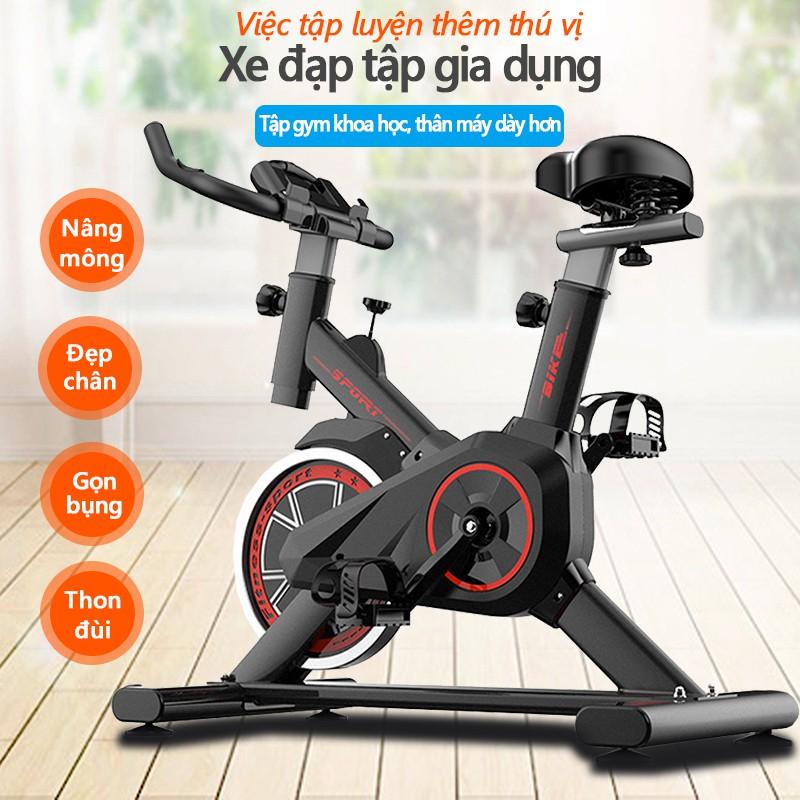 Xe đạp tập thể dục Air bike thiết kế hoàn toàn mới ,Xe đạp tập gym tại nhà dụng cụ tập gym đạp xe tại nhà yên tĩnh tiện