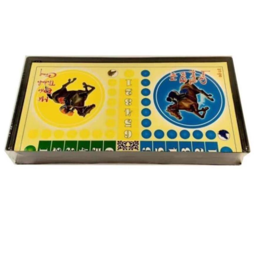 Bộ cờ cá ngựa 28cm x 28cm, Đồ chơi phát triển trí tuệ cho bé