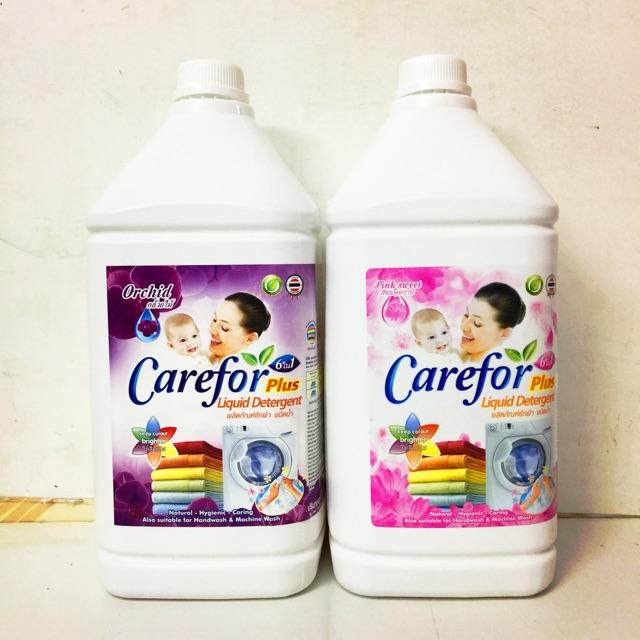 Nước giặt và xả 2 trong 1 Carefor Thái Lan 3500ml