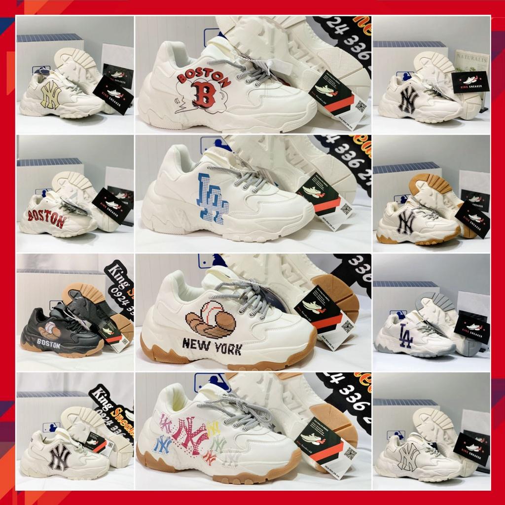 Giày Boston Giày NY LA [Đế tách, chữ IN 3D] Sneakers Boston NY Hàn Quốc tăng chiều cao Nam Nữ