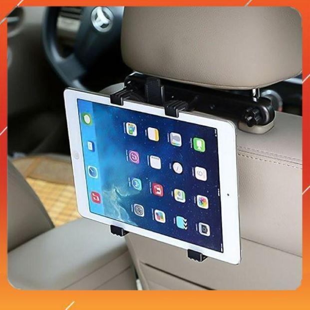 [Mã ELFLASH5 giảm 20K đơn 50K] Giá Đỡ iPad, Máy Tính Bảng Ghế Sau Xe Hơi, Ô Tô