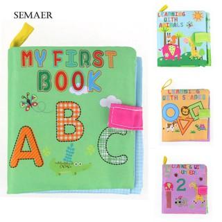 Sách vải cho trẻ học tập phát triển trí thông minh