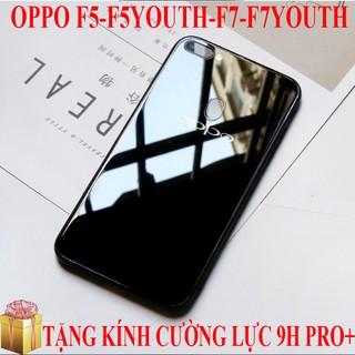 Ốp lưng gương kính Oppo F5,F5Youth,F7 cao cấp