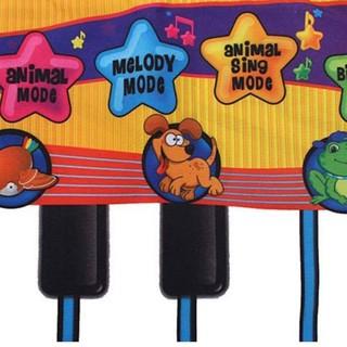 Thảm Piano chơi nhạc cho bé nhiều màu sắc và hình động vật ( dùng cho trẻ em trên 3 tuổi)