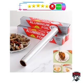 [Sale] [sẵn hàng] Giấy Bạc Nướng Thực Phẩm (Thịt, Cá, Giấy Bạc Nướng Thức Ăn Chịu Nhiệt) - Màng Nhôm Thực Phẩm Cao Cấp thumbnail