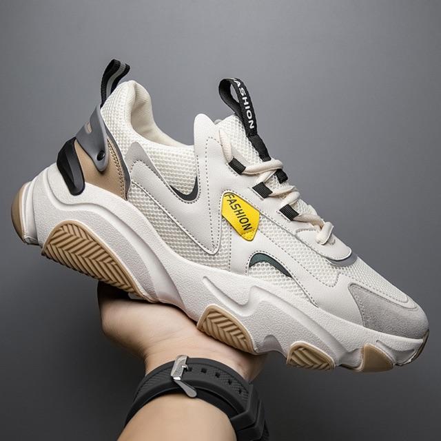 [FreeShip - Bản Mới Nhất] Giày thể thao nam, giày sneakers nam độn đế Fashion ZL05