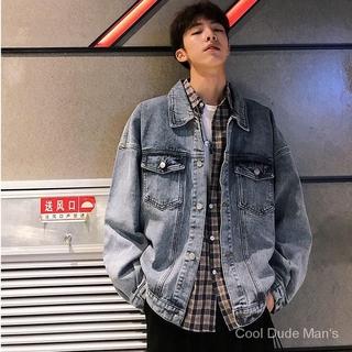 Áo Khoác Jeans Thời Trang Dành Cho Nam 8k1t